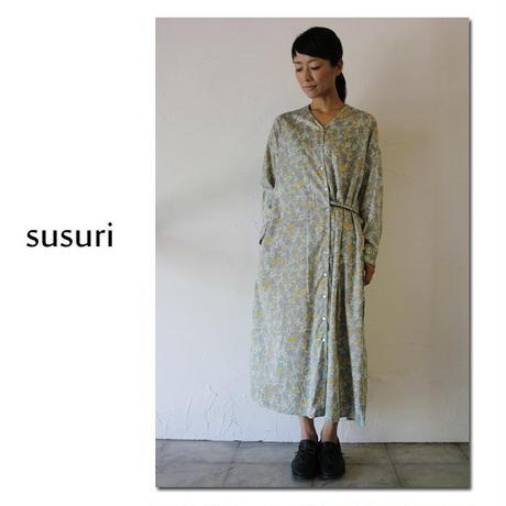 susuri ススリ ドナーワンピース #slate 【送料無料】