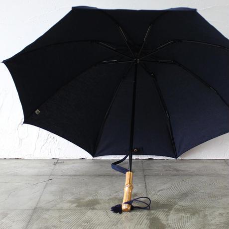 **再入荷**  傳 tutaee ツタエノヒガサ うさぎのたすき 日傘 ♯武州藍、柿渋泥染 【送料無料】