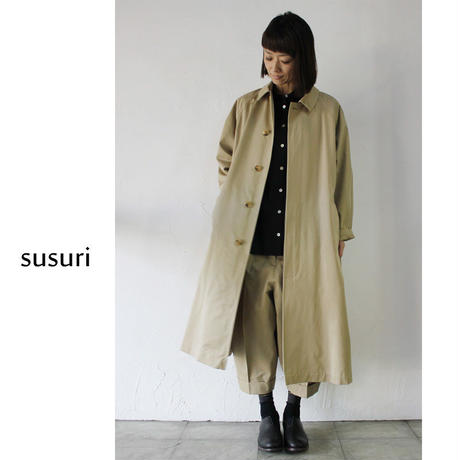 susuri ススリ ファローコート ♯sand【送料無料】