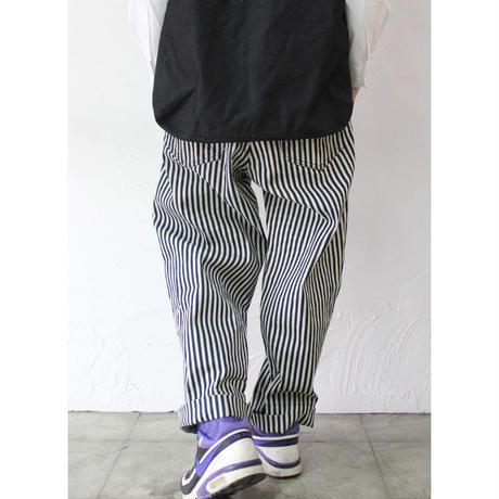FUNSET OF ART ファンセットオブアート ヒッコリー袴パンツ #インディゴ 【送料無料】