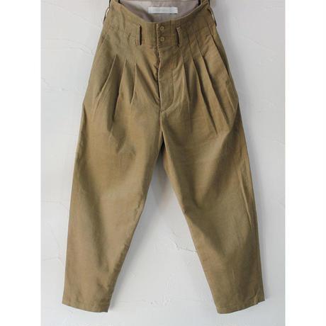 ASEEDONCLOUD アシードンクラウド Corduroy Formal Trousers ♯ベージュ【送料無料】