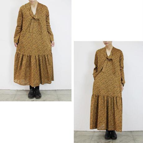 SUSURI ススリ タイピストドレス #cinnamon 【送料無料】