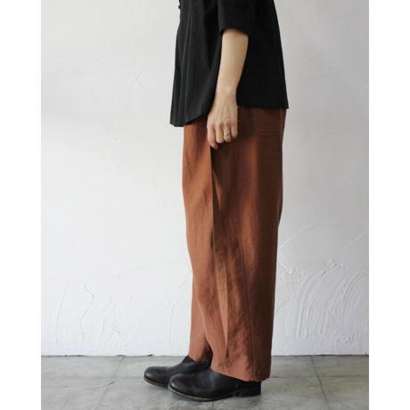 SUSURI ススリ ペコラパンツ #brown,black 【送料無料】