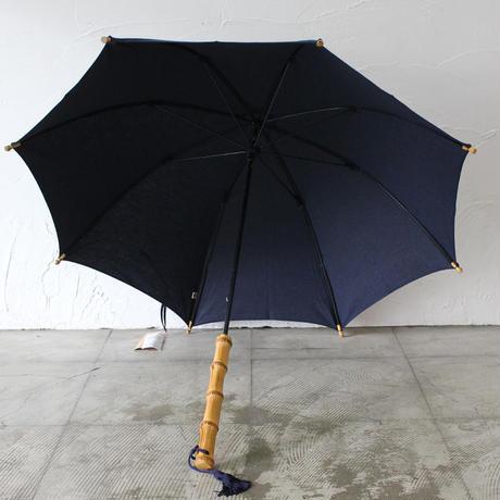 ツタエノヒガサ てんぐのたすき 日傘 #武州藍、柿渋泥染め 【送料無料】