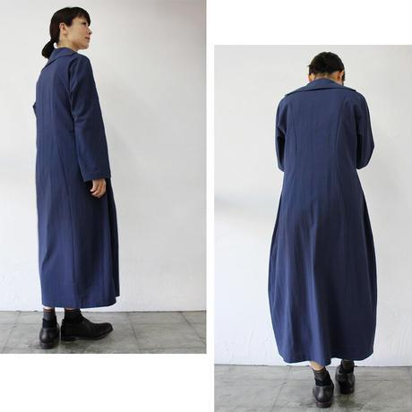 SUSURI ススリ コクスンドレス #prussian blue【送料無料】