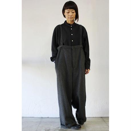 susuri ススリ クラウンパンツ #grey , black 【送料無料】