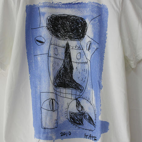 Tigre Brocante ティグルブロカンテ KAKEI半袖Tシャツ #ピンク、ブルー