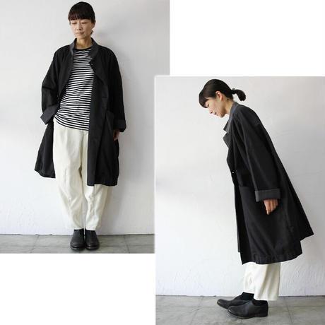 FUNSET OF ART ファンセットオブアート 別注コットンTAISHOコート #ブラック 【送料無料】