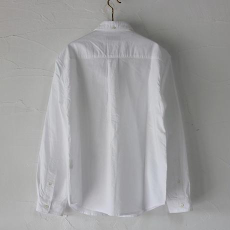 nisica ニシカ スモールカラーシャツ ♯ホワイト【送料無料】