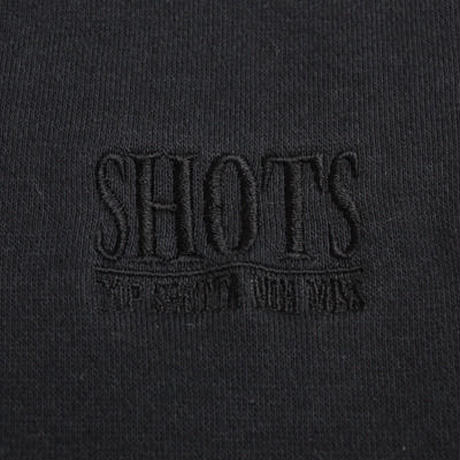 SHOTS T.S.N.M SWEAT PANTS (BLACK)