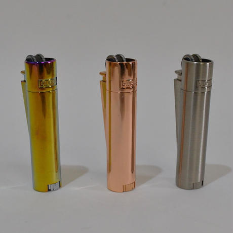 Metallic Clipper Lighter / Small Size