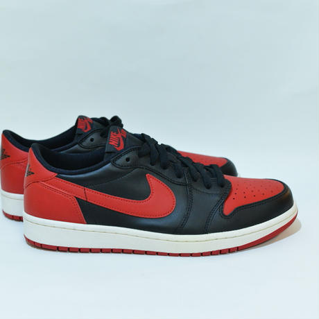 AIR JORDAN 1 RETORO LOW OG / BRED / 28.0cm