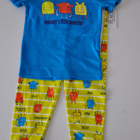 THE CHILDREN'S PLACE*pajamas(monster・BL)