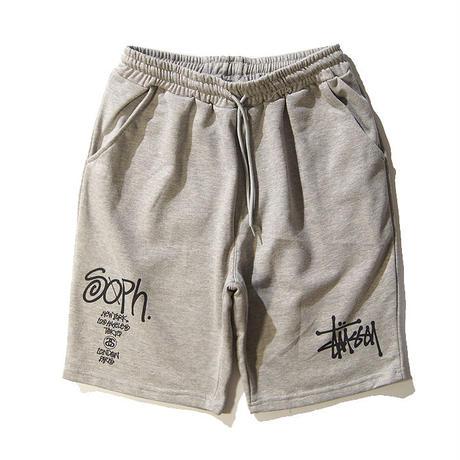 Stussy ステューシー ショーツ メンズ ハーフパンツ 短パン ショートパンツ ランニングウェア トレーニングウェア フットボールウェア 2色