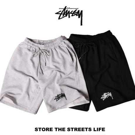 Stussy Basic  pants  ステューシー ショーツ ハーフパンツ 短パン ショートパンツ ランニングウェア トレーニングウェア メンズ フットボールウェア 2色