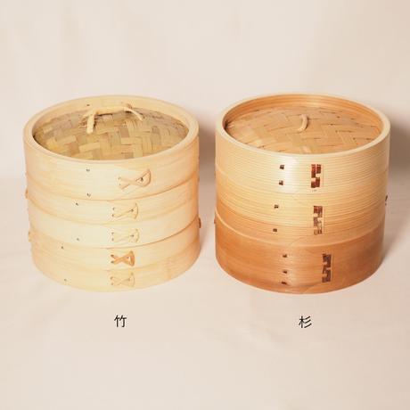 竹のせいろ 径24㎝ 蓋