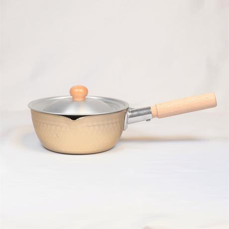 木の持ち手の可愛い鍋蓋 16・18㎝鍋用