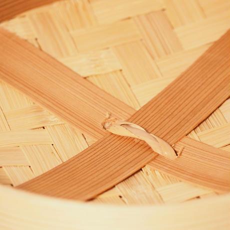 杉のせいろ 径27㎝ 身と蓋  (1段せいろ)