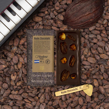 HONDURAS wanpusirpi 60%  milk chocolate w/ヘーゼルナッツ&ピーカンナッツ