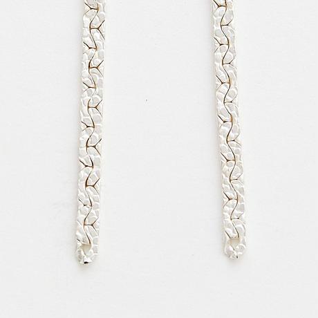 snake chain pierce 13P102 / silver