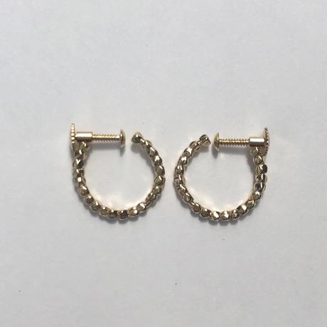 diamond fragment earring 18E301 / gold
