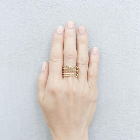 spiral ring 05R100 / gold