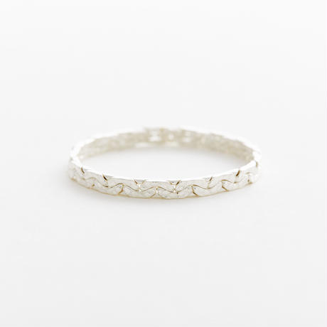 snake chain ring 13R101 / silver
