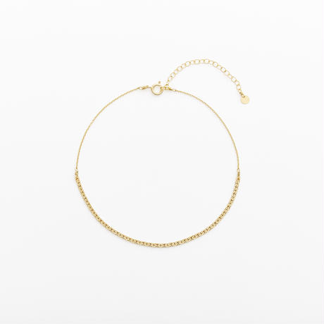 snake chain anklet 13A101 / gold