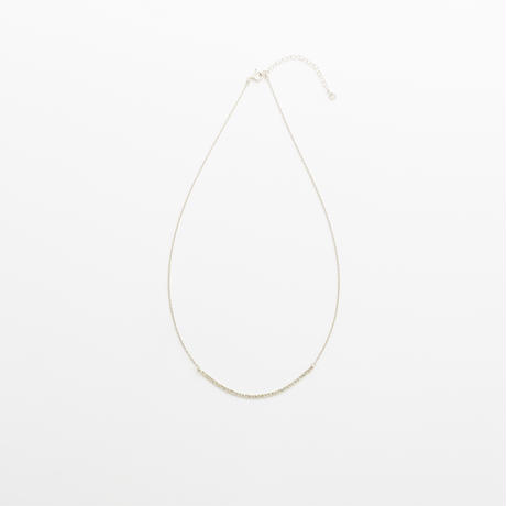 snake chain necklace 13N101 / silver