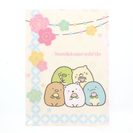 SMD031-02 クリアファイル【はなやか七宝】