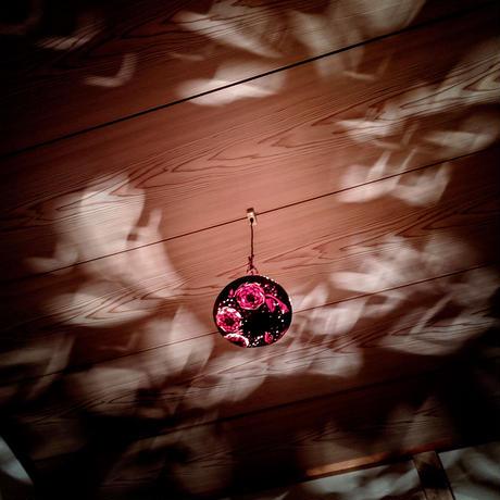和のほの灯り 花曇