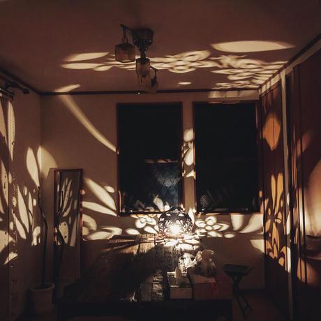 ひょうたんランプ〜花灯り〜