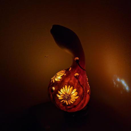 和のほの灯り 秋桜