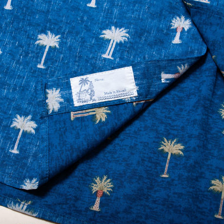 <Coming Soon...> Men's Hawaiian Button Down Shirts - Pineapple Blue
