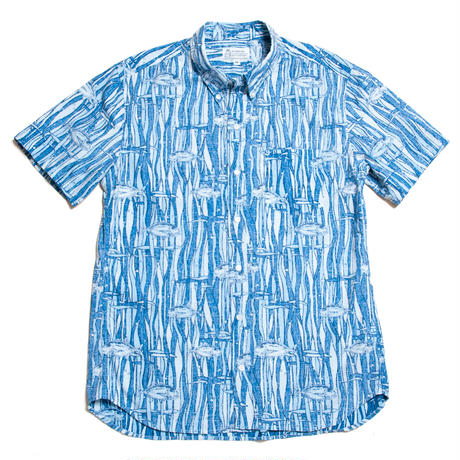 Men's Hawaiian Button Down Shirts - Ahi Fish