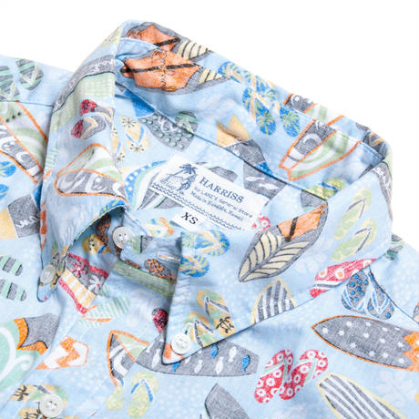 Men's Hawaiian Button Down Shirts - Surfboards