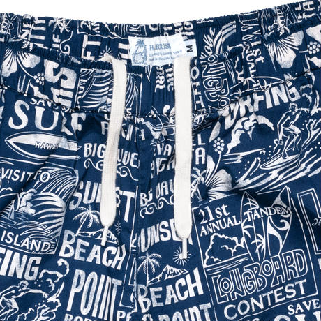 Aloha Walk Shorts - Surfing / Made in Hawaii U.S.A.