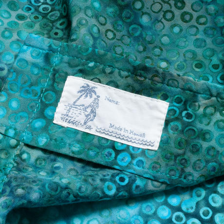 """Bubble Sea"" - Made in Hawaii - 100% Rayon - 02012"