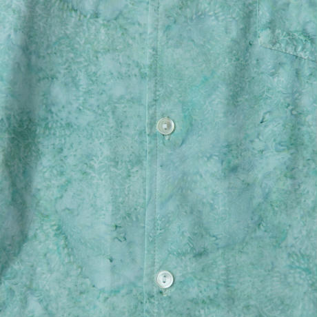 Men's Aloha Shirts - Aquamarine Frost