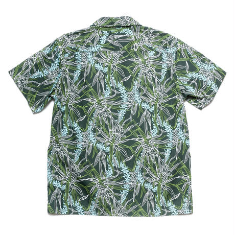 Aloha Shirts - Pineapple Leaf Green / Made in Hawaii U.S.A.