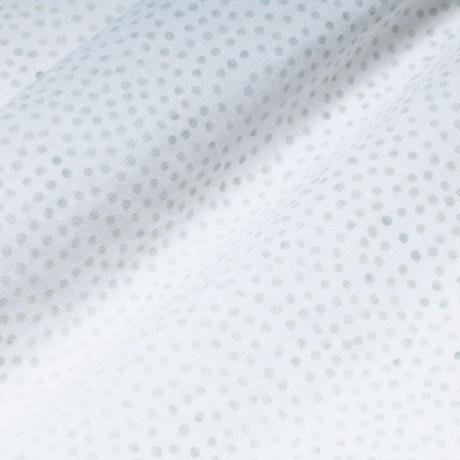 Batik Button Down Shirts - Dot White / Made in Hawaii U.S.A.