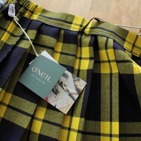 O'NEIL OF DUBLIN EASY LONG KILT SKIRT(イージーロングキルトスカート)