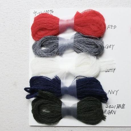 Meg KNITTING ウール手編み靴下 ライン入り 【Men's 28.0cm〜】