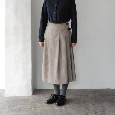 HAND ROOM WOMEN'S キルトスカート check