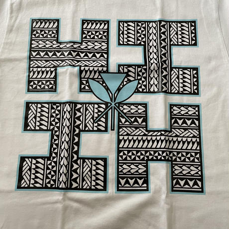 2021 HIFI PEPELUALI LINE【HAWAII'S FINEST】LOGO TRIBAL BLUE