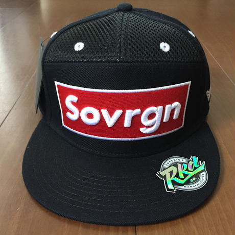 "SOVRGN ""BOX LOGO BRED"" 7Panels Hat"