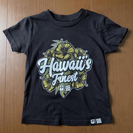 【KIDS TEE】2020 HIFI OKAKOPA LINE【HAWAII'S FINEST】HIBISCUS GOLD