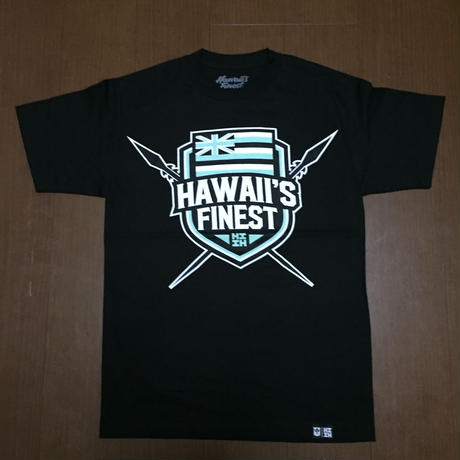 2018PEPELUALI LINE【HAWAII'S FINEST】SHIELD002 TEE