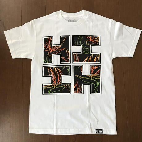 2019 APELILA LINE【HAWAII'S FINEST】BIRD RASTA WHITE