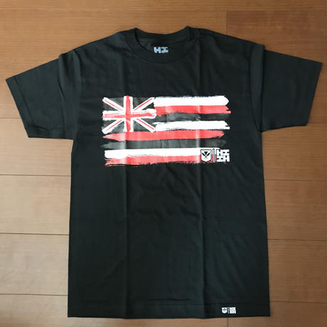 2020 IANUALI LINE【HAWAII'S FINEST】FLAG BLACK